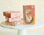 Juicy Citrus handcrafted Vegan soap with Kaolin clay