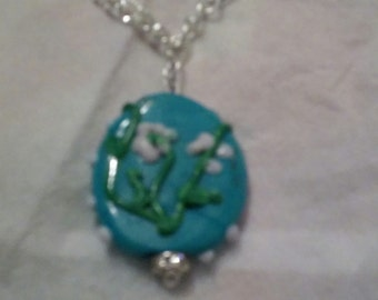 Early Spring Flowers Pendant