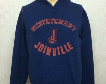 60s Vintage DROPNYL HELANCA Joinville Survetement Hooded