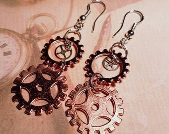Rose gold cogs