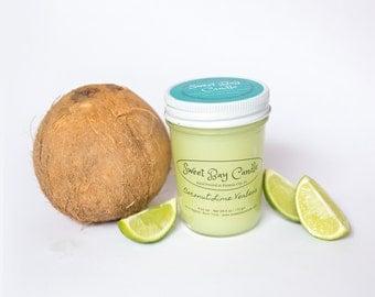 Coconut Lime Verbena Candle - 8 fl oz