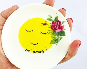 Trinket Dish - Ring Dish - Ceramic Small Plate - Ceramic Plate - Small Ceramic Plate