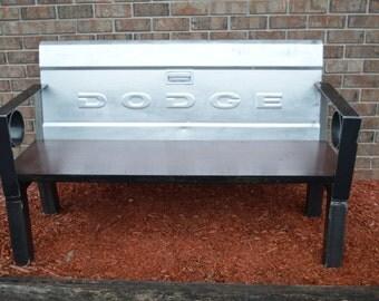 Dodge tailgate bench