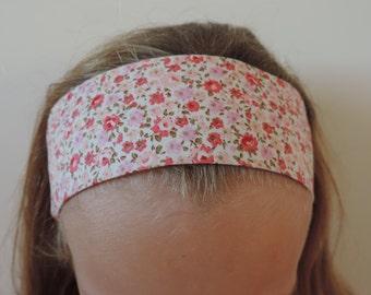 Hair Band, Head band, Girls Hair Band. Elasticated.  Handmade