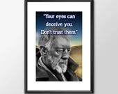 Star Wars Art - Obiwan - ...