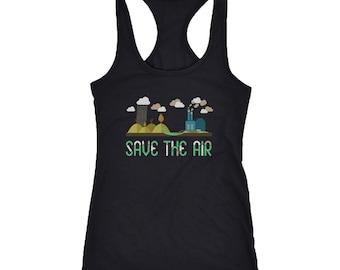 Air Racerback Tank Top T-Shirt. Funny Air Tank.
