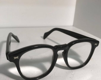 Authentic 1950's Arnel Style Glasses-Marked 'JAPAN' on frame-Johnny Depp Style