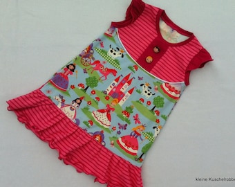 Sleeveless dress, pinafore dress, tunic, request size