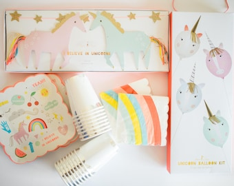 Unicorn Birthday Party Kit