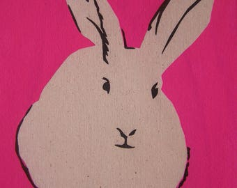 Rabbit: pink