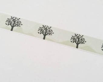 Washi tape trees forest nature