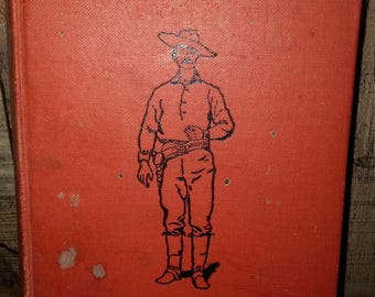 Vintage Red Men and White book