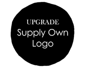 UPGRAGE - Supply your own logo - Custom laser engraving - Lazer engraved guest books - wedding guest book wood