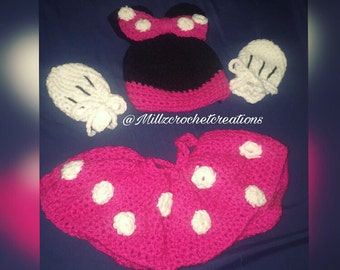 Baby Minnie Mouse Outfit