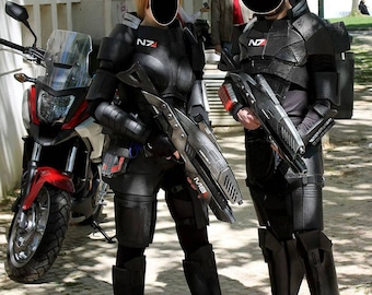 Commander Shepard Male and Female Cosplay N7 Armor - EVA Foam Full Mass Effect Costume