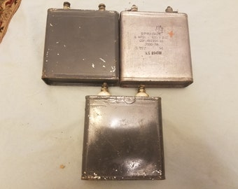 Vintage Capacitors Etsy