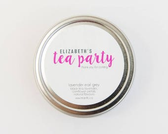 Tea Party Favour - Afternoon Tea Favor - Birthday Party Favor - High Tea - Retirement Party - Alice in Wonderland Madhatter's Tea Party Gift