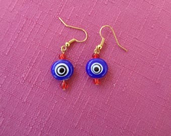 Evil Eye Nazar Earrings