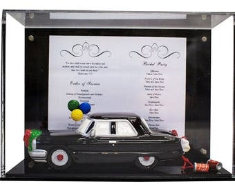 Deluxe Clear Acrylic Memorabilia Display Case with UV Protection (A045-A)