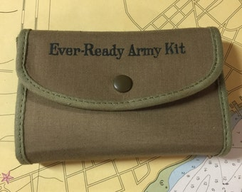 WWII Ever-ready Army shave kit shaving