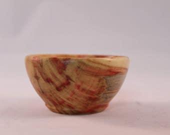Flame Box Elder Salt Pinch Bowl  No. 42