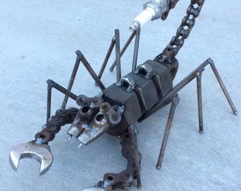 Scrap scorpion