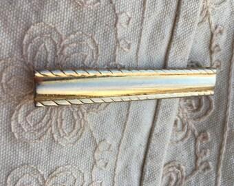 Vintage Swank tie clip, Swank tie clip, gold tone tie clip, tie clips gold tone, vintage Swank tie clips, tie clips vintage C51