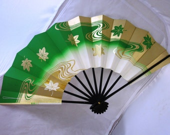Vintage  traditional Japanese hand fan Japanese women costume exccessories , Japanese classic tradition