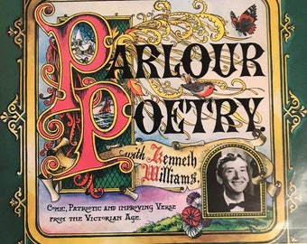 Kenneth Williams - Parlour Poetry Vinyl LP  - Condition is NM/NM