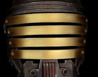Lord Vindican Cold Cast Aluminium Mask SWTOR