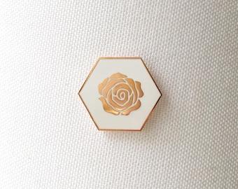 Rose Gold Pin
