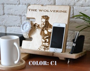 Wolverine xmen art wood stand xmen comics xmen marvel xmen print xmen cosplay xmen decal decor xmen gift poster xmen superhero Customized