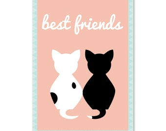 Card Best Friends