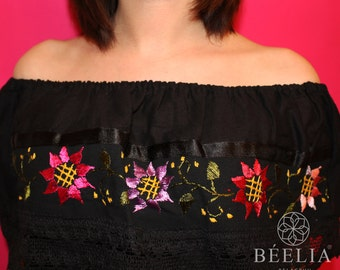 Campesina - Mexican Blouse - Embroidery