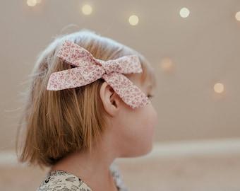 Toddler Hair Bows - Liberty of London - Hair Bows - Schoolgirl Bows