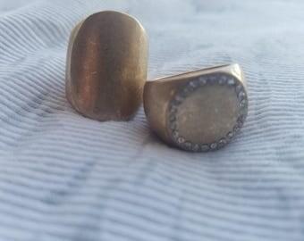 Vintage Brass Rings