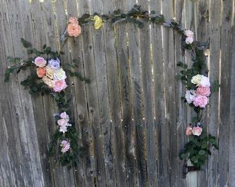 Spring Wedding Arch/Sold
