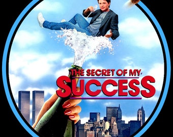 80's Michael J. Fox Classic The Secret of My Success Poster Art custom tee Any Size Any Color
