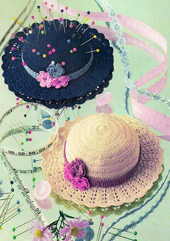 PDF Victorian Dolls Hat & Pin Cushion Crochet Pattern ...