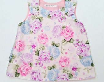 Pastel Pinafore Dress