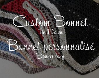 Custom Horse Fly Bonnet