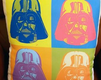 Vader Warhol, Cushion - Wall Decor - Artwork- Painting - Illustration - Home Decor