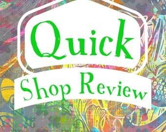 Shop Critique - Shop Review - Ready for the Holidays - Life Coach - Life Coaching - Target Market - Entrepreneur mentor - business coaching