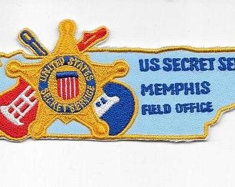 US Secret Service USSS Tennessee Memphis Field Office Agent Service Patch