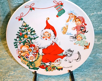 Goebel First Edition Christmas Plate by Charlot Byj
