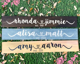Customized Wooden Love Sign - marriage sign - customized sign - home decor - valentine's day - wall decor - valentine's day sale