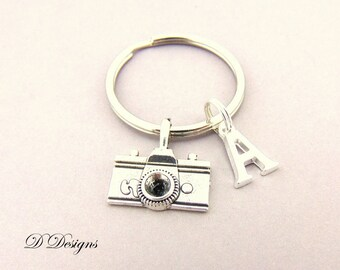 Camera KeyRing, Camera KeyChain, Photography KeyChain, Personalised Camera Key chain, Photography Gifts