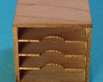 1:12 Dollhouse Miniature Paper Sorter Kit/ Dollhouse Miniature Kit DI SO141