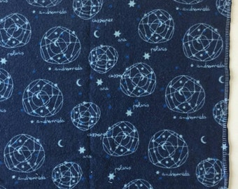 Navy constellations recieving blanket