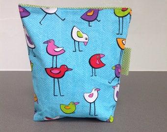 Reusable sandwich bag/birds